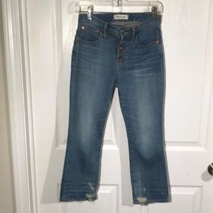 Madewell women's jeans